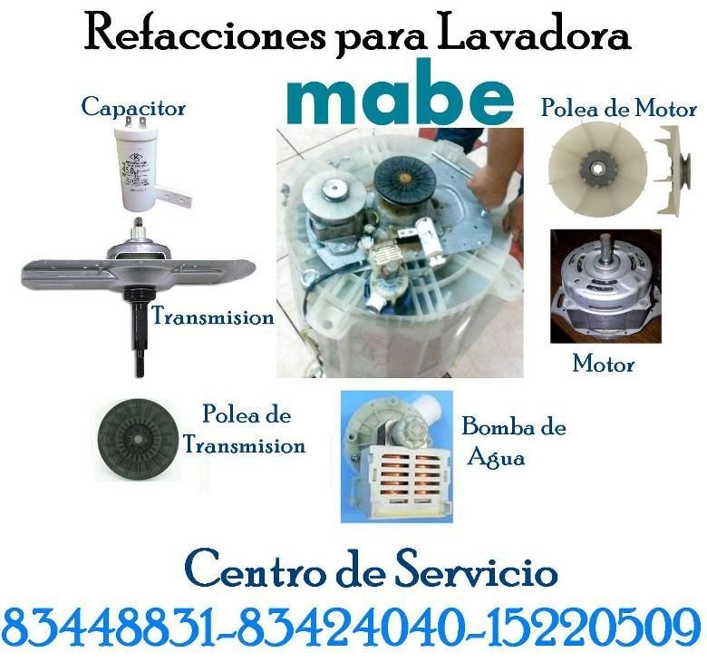 Refacciones mec nicas de lavadora mabe blog de for Funcion de la lavadora