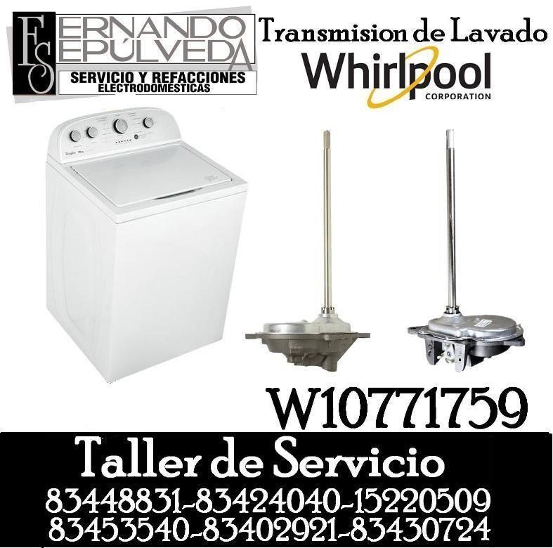 Transmisi n de lavadora whirpool blog de refacciones for Funcion de la lavadora