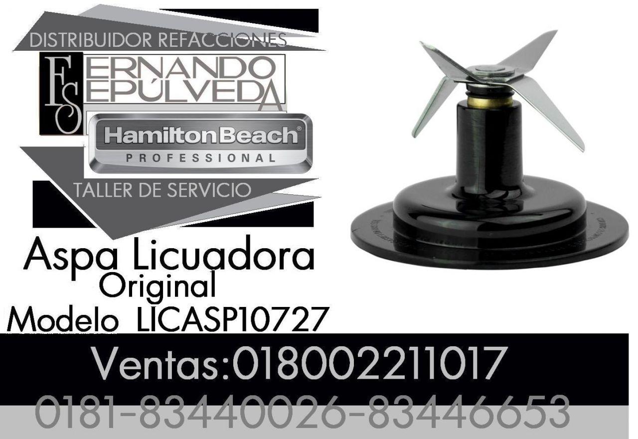 Hamilton Beach Logo Aspa Original De Licuadora Para La Marca Hamilton Beach Modelo